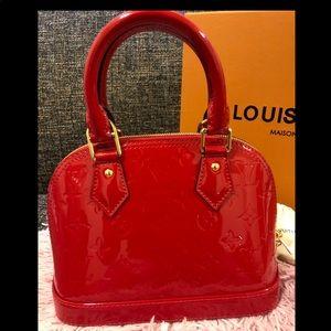Red Louis Vuitton Bag